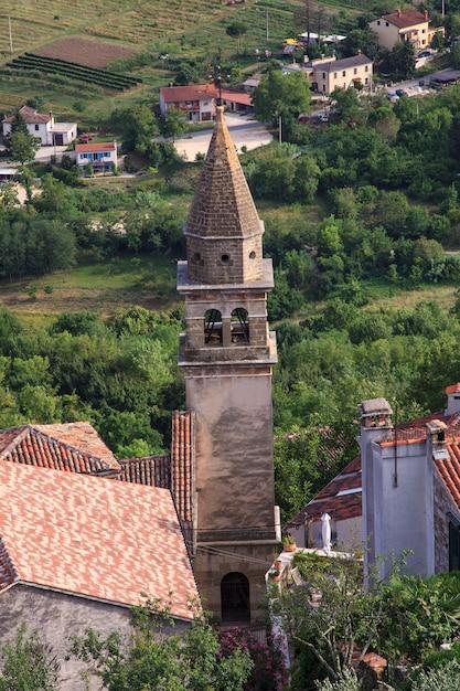 Kościół św. Jana Chrzciciela I Najświętszej Maryi Panny Bramy, Motovun Premium Zdjęcia