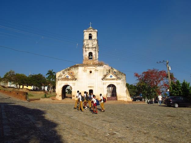 Kościół W Trinidad, Kuba Premium Zdjęcia