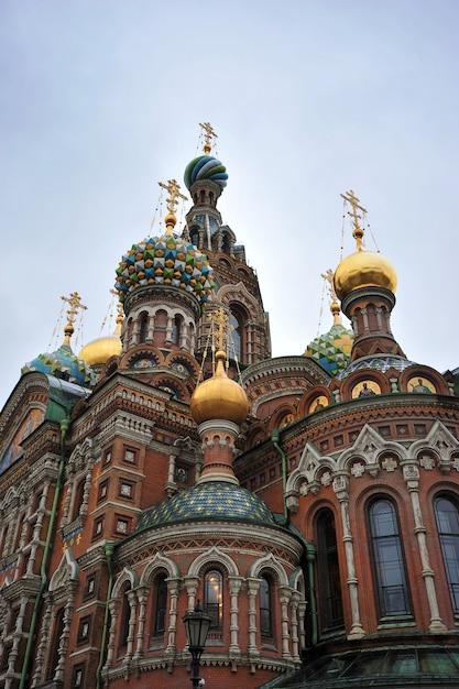 Kościół Zbawiciela Na Krwi Rozlanej, St. Petersburg, Rosja Premium Zdjęcia