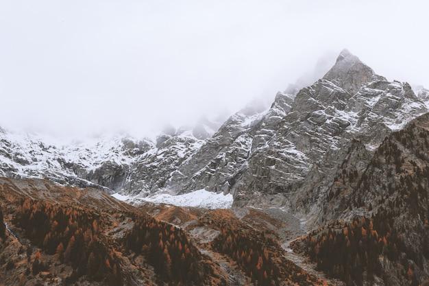 Krajobraz Górski Snowcap Darmowe Zdjęcia