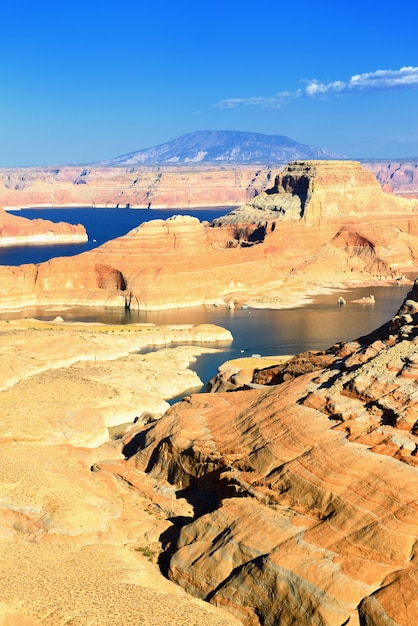 Krajobraz Jeziora Powell Premium Zdjęcia