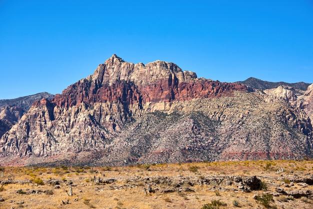 Krajobraz W Red Rock Canyon, Nevada, Usa Darmowe Zdjęcia