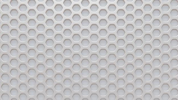 Kratka W Białym Tle. Renderowania 3d. Premium Zdjęcia