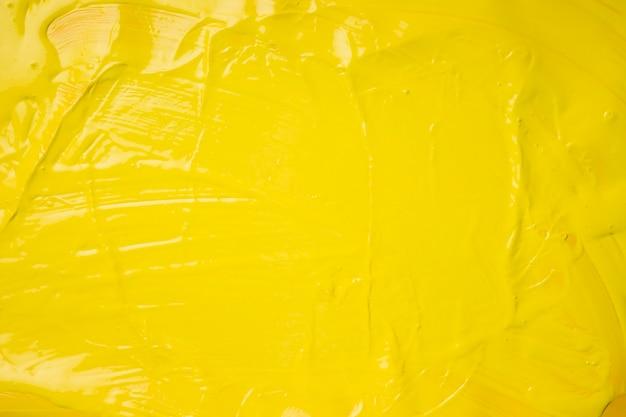 Kreatywne tło żółtej farby Darmowe Zdjęcia