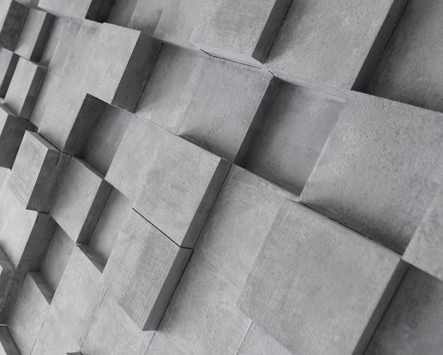 Kreatywnie szara powierzchnia z kwadratami Darmowe Zdjęcia