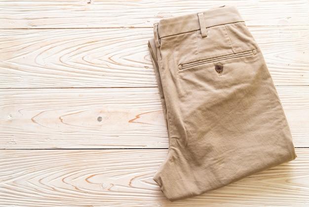 Krotnie Spodnie Biege Premium Zdjęcia