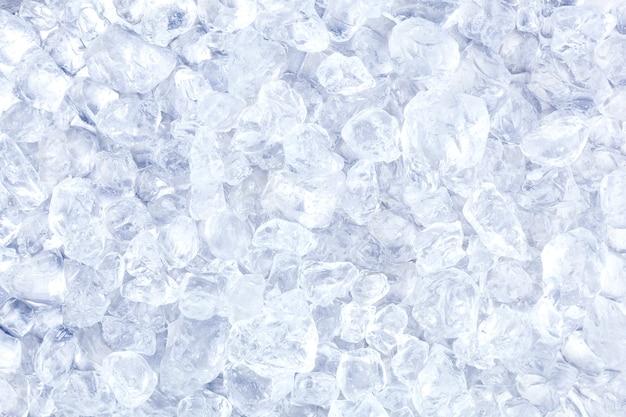 Kruszony lód lub tekstura Premium Zdjęcia