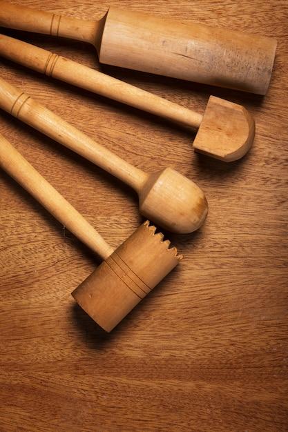 Kuchnia. Drewniane Przybory Kuchenne Darmowe Zdjęcia