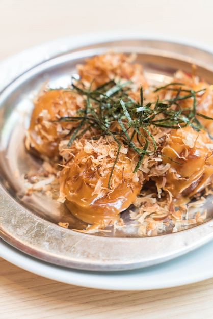 Kulki takoyaki lub ośmiornicy Premium Zdjęcia