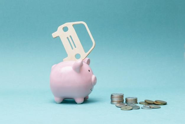 Kupowanie samochodu na kredyt i za gotówkę Premium Zdjęcia