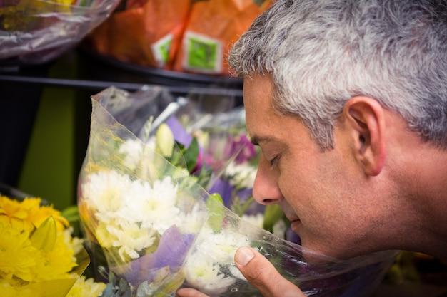 Kwiaciarnia Męski Zapachu Kwiatów Premium Zdjęcia