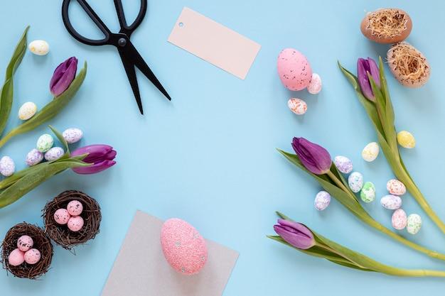 Kwiaty I Pisanki Na Wielkanoc Darmowe Zdjęcia