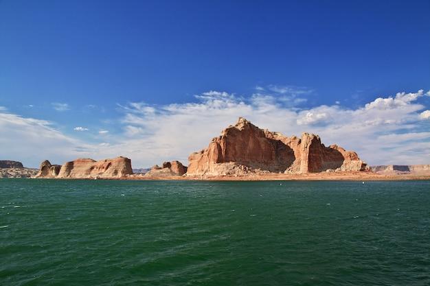 Lake powell w arizonie, paige, usa Premium Zdjęcia