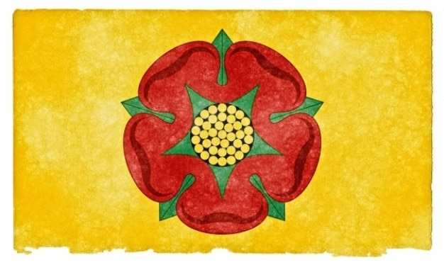 Lancashire grunge flag Darmowe Zdjęcia