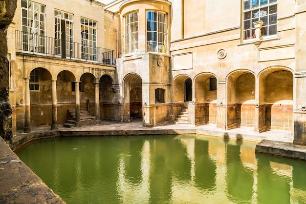 Łaźnie Rzymskie W Bath Premium Zdjęcia