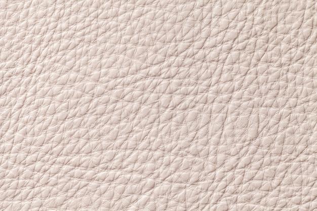 Lekki Beżowy Beżowy Rzemienny Tekstury Tło Z Wzorem, Zbliżenie. Premium Zdjęcia