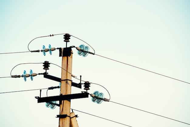 Linie energetyczne Premium Zdjęcia