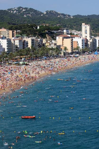Lloret De Mar, Hiszpania Premium Zdjęcia