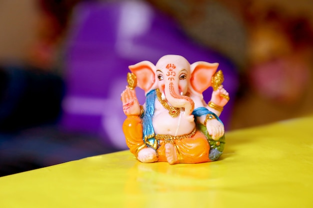 Lord ganesha, festiwal ganesh Premium Zdjęcia