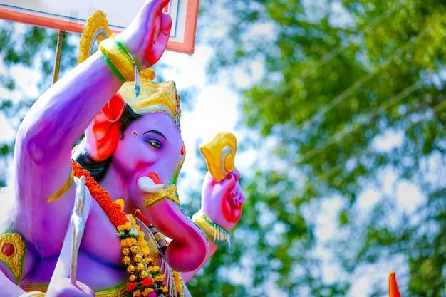 Lord Ganesha, Indyjski Festiwal Ganesh Premium Zdjęcia
