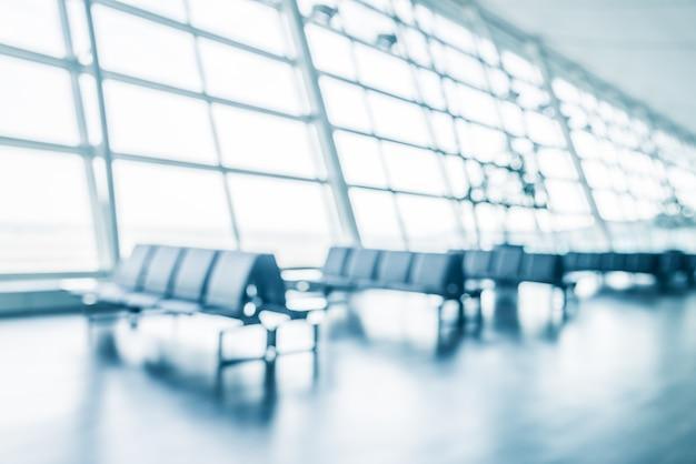 Lotnisko Z Rzędami Krzeseł Darmowe Zdjęcia
