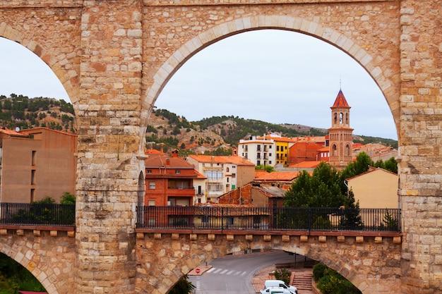 Łuk Wodociągu W Teruel Darmowe Zdjęcia