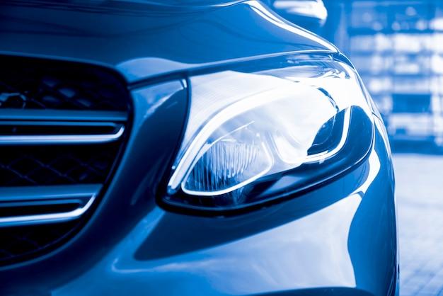 Luksusowa Lampa Samochodowa Premium Zdjęcia