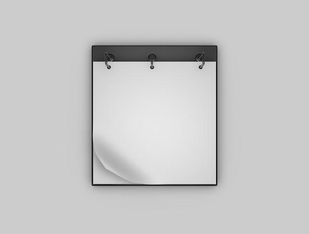 Makieta Kalandra Stołowego Premium Zdjęcia
