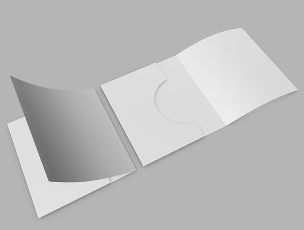 Makieta Okładki Pliku Premium Zdjęcia