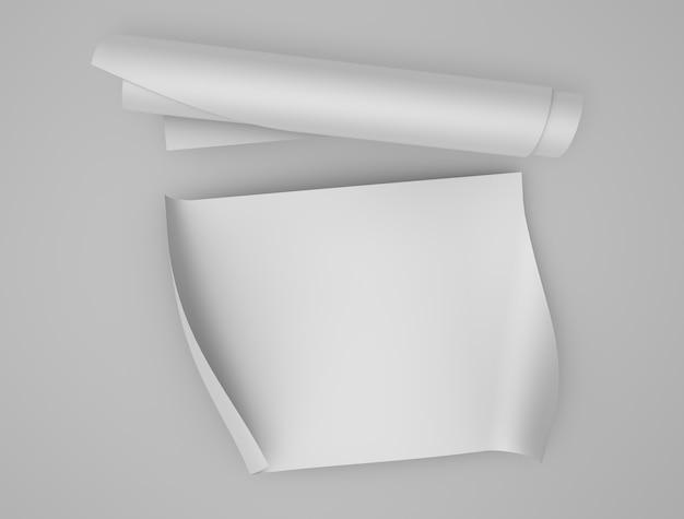 Makieta Papierowa Premium Zdjęcia
