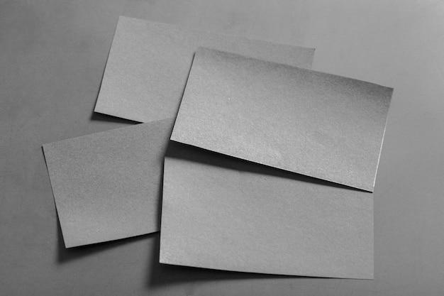 Makieta pustej wizytówki Premium Zdjęcia