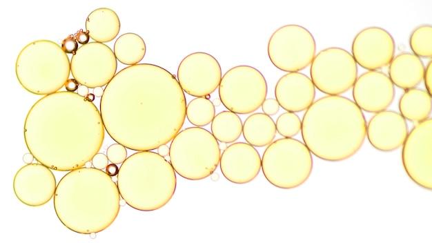 Makro napoju złote bąbelki Darmowe Zdjęcia