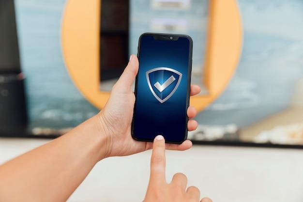 Makro smartfon z makiety Darmowe Zdjęcia