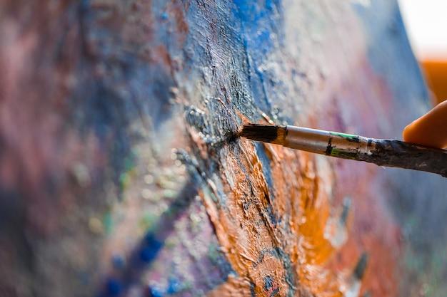 Malowanie Na Płótnie Akrylem Darmowe Zdjęcia