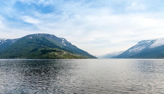 Malownicze Krajobrazy Norweskich Fiordów. Darmowe Zdjęcia