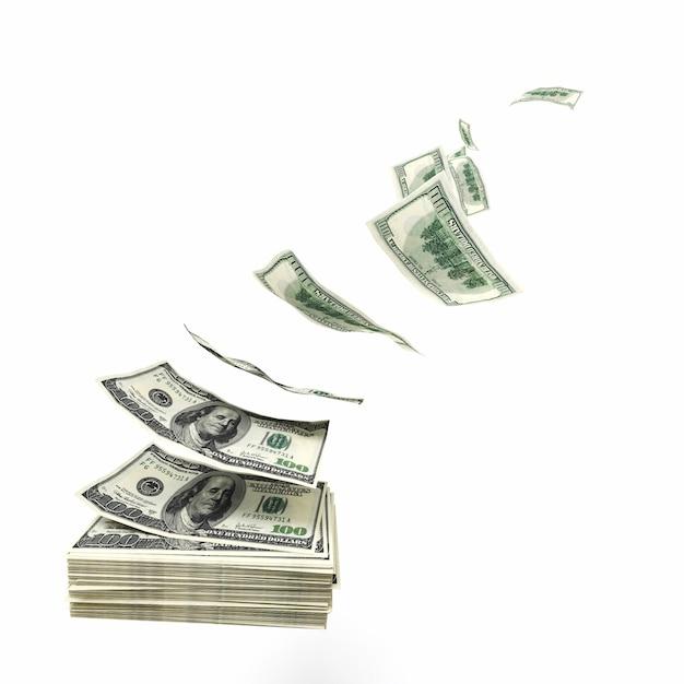 Marnuj pieniądze Premium Zdjęcia