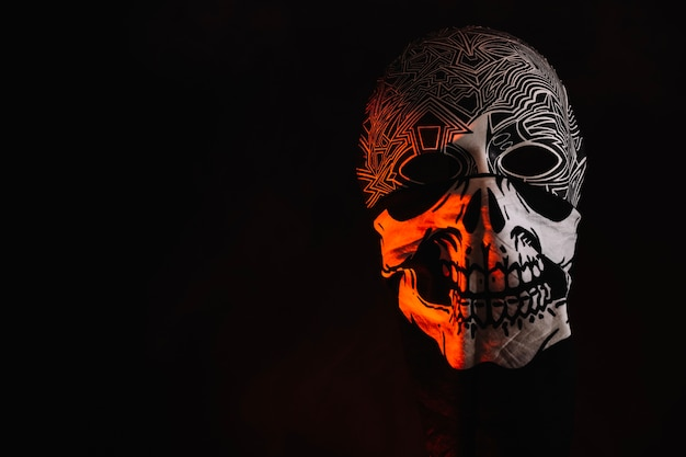 Maska Halloween W Ozdobnej Szmaty Darmowe Zdjęcia