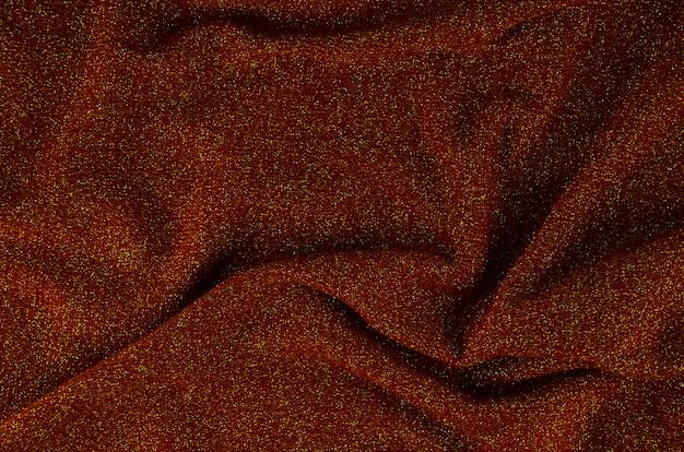 Materiał Teksturowany W Zbliżeniu Z Czerwonej Tkaniny Darmowe Zdjęcia