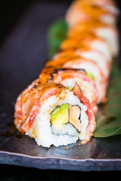 Matsusaka I Wagyu Wołowina Sushi Darmowe Zdjęcia