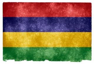 Mauritius Grunge Flag Darmowe Zdjęcia
