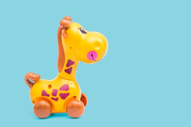 Mechaniczna Zabawka żyrafy Premium Zdjęcia