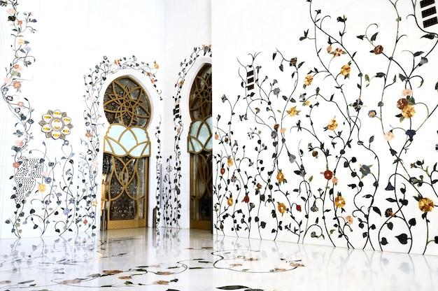 Meczet Szejka Zayeda W Abu Zabi Premium Zdjęcia