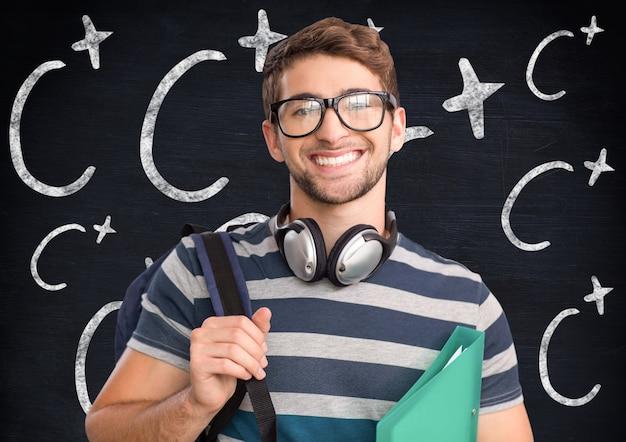 Męskie Ramiona Skrzyżowane Akademickiego Krótkie Poprawę Włosów Darmowe Zdjęcia