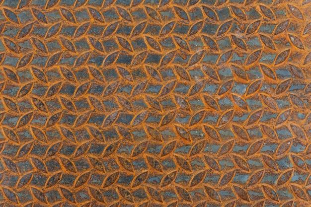 Metalu tło z zrudziałą teksturą. Darmowe Zdjęcia