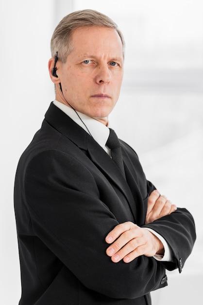 Mężczyzna Bezpieczeństwa Z Boku Darmowe Zdjęcia
