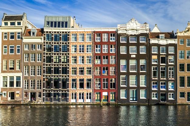 Miasto Amsterdam Premium Zdjęcia