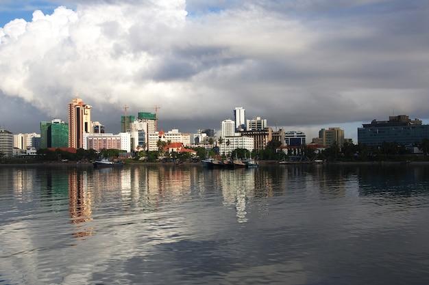 Miasto Dar Es Salaam W Tanzanii Premium Zdjęcia