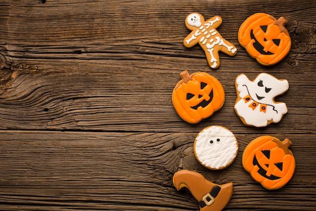 Mikstura halloween majchery na drewnianym tle Darmowe Zdjęcia
