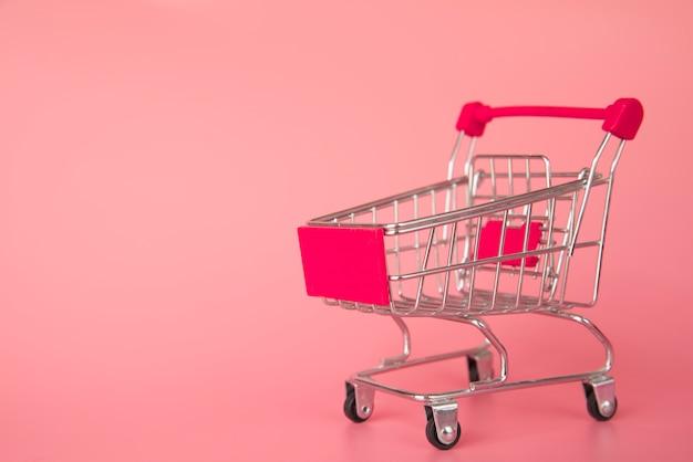 Miniaturowy wózek na zakupy Darmowe Zdjęcia