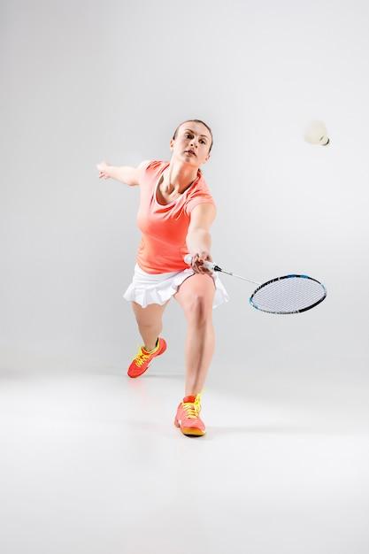 Młoda Kobieta W Badmintona Darmowe Zdjęcia